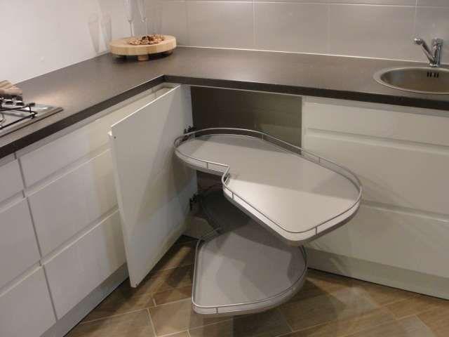 Apothekerskast Keuken Afmetingen : keukensite van Nederland Greeploos wit hoogglans keuken [44781